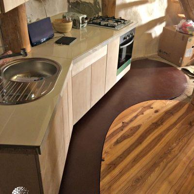 Virtuvės molio asla